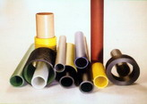 Pipes made from BCF and glass fiber
